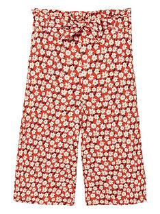 fatface-girls-daisy-print-woven-culottes-red