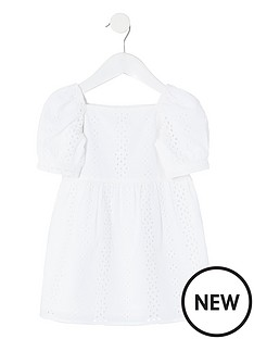river-island-mini-girls-borderie-puff-sleeve-dressnbsp-nbspwhite