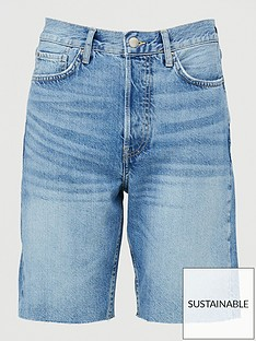 v-by-very-miami-longline-denim-shorts-mid-wash