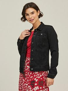 fatface-tasha-denim-jacket-black