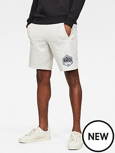 g-star-raw-sweat-short-white