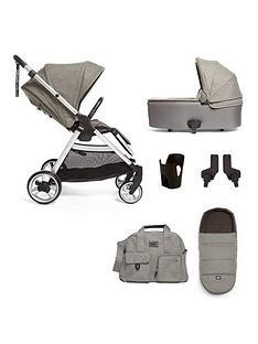 mamas-papas-flip-xt2-bundle-pushchair-carrycot-adaptor-cup-holder-amp-footmuff-grey-melange