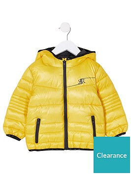 river-island-mini-mini-boys-padded-coat-yellow