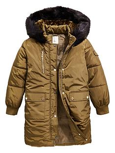 river-island-girls-faux-fur-hood-parka-khaki