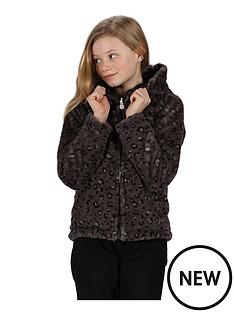 regatta-regatta-girls-spyra-with-reversible-leopard-fur-insulated-padded-jacket