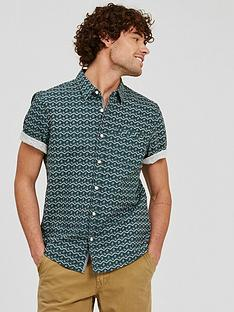 fatface-calder-print-short-sleeve-shirt-khaki