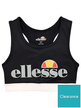 ellesse-older-girls-toscana-sport-bra-black