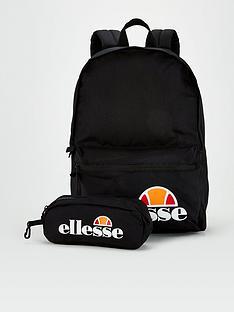 ellesse-kids-rolby-backpack-and-pencil-case-black