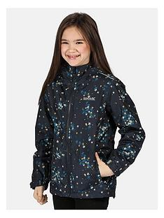 regatta-regatta-girls-brina-floral-print-waterproof-jacket