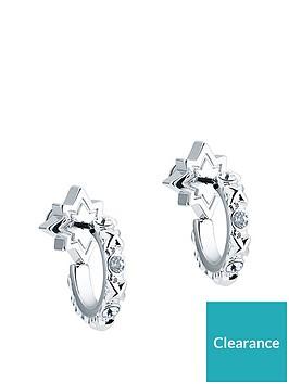 all-we-are-silver-tonenbspbozena-mini-star-hoop-earring