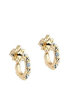 all-we-are-bozena-mini-star-hoop-earring