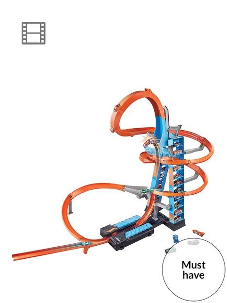 hot-wheels-sky-crash-tower-race-track-set-with-diecast-car