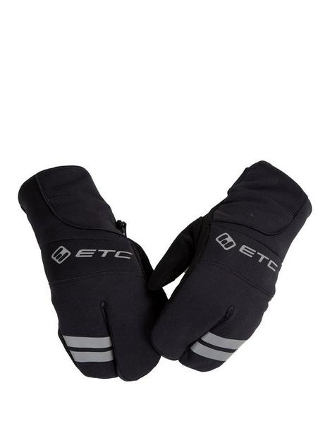 cycling-junior-winter-mittens-black