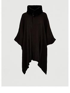 v-by-very-faux-fur-collar-wrap-black