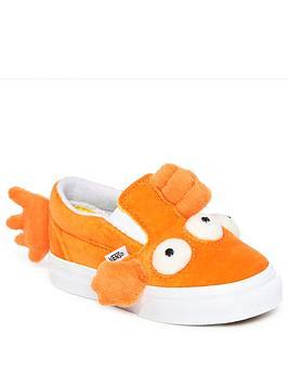 vans-vans-the-simpsons-blinky-fish-classic-slip-on-v-toddler