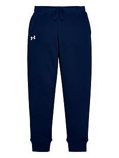 under-armour-childrens-ua-rival-cotton-pants-navy