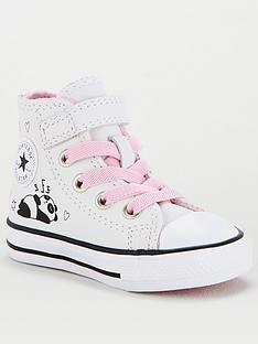converse-chuck-taylor-all-star-1v-hi-panda-childrens-trainer-white-black-pink