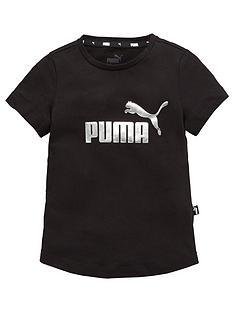 puma-essentials-girlsnbspt-shirt-black