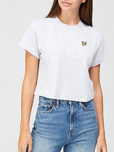 lyle-scott-crop-t-shirt-white