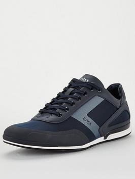 boss-saturn-low-mesh-trainers-navy