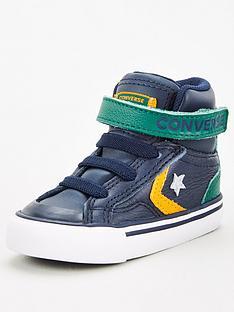 converse-pro-blaze-strap-hi-leather-infantnbsptrainers-greyyellow