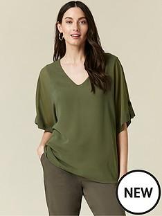 wallis-tab-sleeve-overlayer-top-khaki