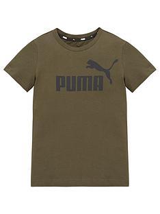 puma-essentials-logo-t-shirt-green