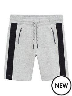 mango-boys-side-stripe-jersey-shorts-grey