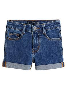 mango-girls-denim-shorts-dark-blue