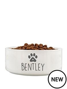 personalised-dog-paw-bowl