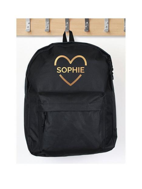 the-personalised-memento-company-personalised-gold-heart-backpack