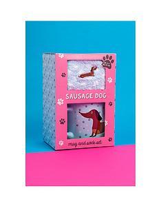 fizz-sausage-dog-mug-amp-socks-gift-set