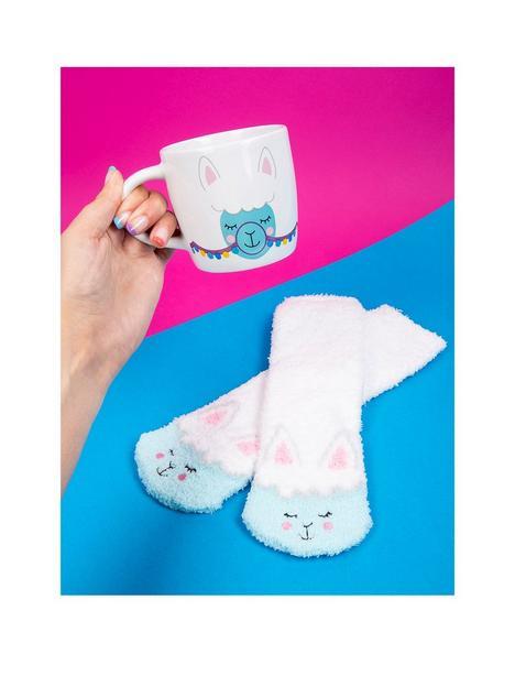 fizz-llama-mug-amp-socks-gift-set