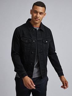 burton-menswear-london-denim-jacket-black