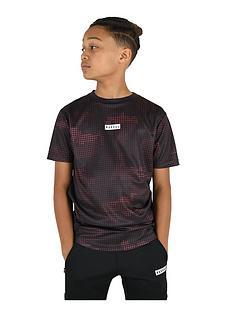 rascal-childrensnbsprank-short-sleeve-t-shirt-redblack