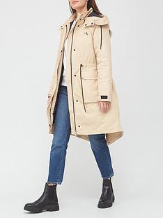 calvin-klein-jeans-long-utility-hooded-parka-coat-cream