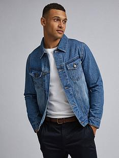 burton-menswear-london-mid-wash-denim-jacket-blue