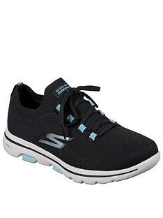 skechers-go-walk-5-trainers-blackturquoise