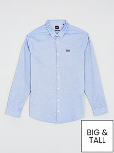 boss-brod-textured-shirt-medium-blue