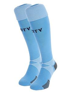 puma-youth-manchester-city-home-sock
