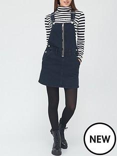 calvin-klein-jeans-dungaree-zipnbspdress-denim