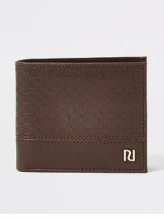 river-island-monogram-wallet-chocolate