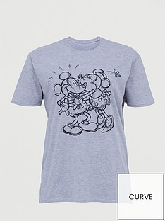 v-by-very-curve-disney-mickey-amp-minnie-t-shirt-grey-marl
