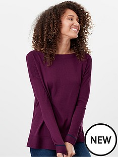 joules-vivianna-drop-shoulder-slash-neck-jumper-purple