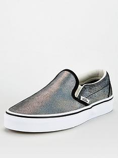 vans-classic-slip-one--blackmetallicnbsp