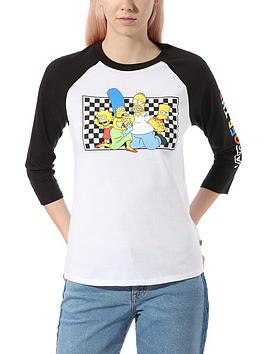 vans-x-the-simpsons-family-raglan-tee-multi