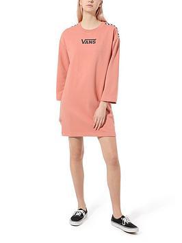 vans-chromo-ii-sweater-dress-pinknbsp