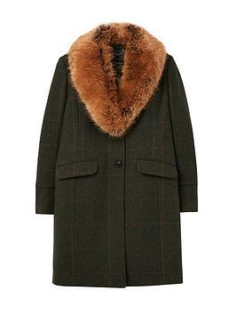 joules-joules-langley-longline-coat-with-faux-fur-trim