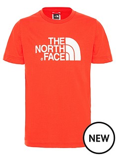 the-north-face-childrensnbspshort-sleeve-easy-tee-red
