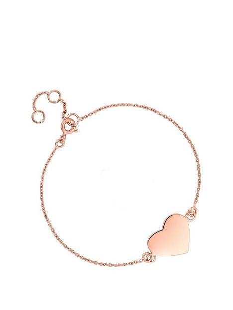 simply-silver-rose-gold-plated-sterling-silver-personalised-engravable-heart-disc-bracelet